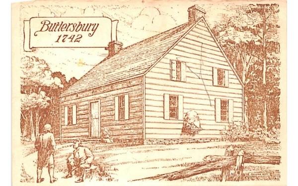 Buttersbury 1742 Fonda, New York Postcard