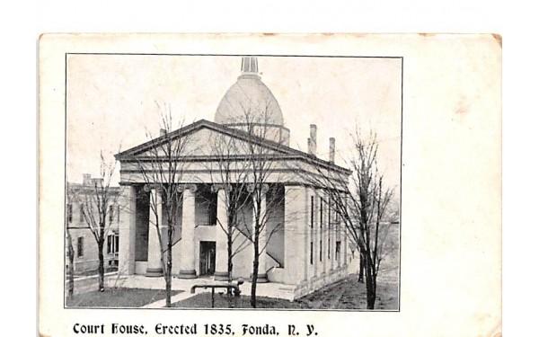 Court House Fonda, New York Postcard