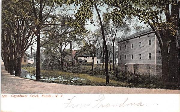 Cayadutta Creek Fonda, New York Postcard