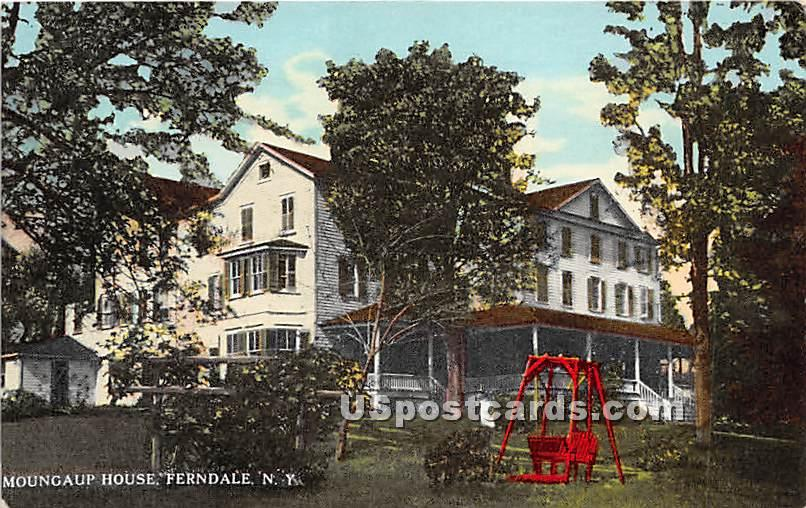 Moungaup House - Ferndale, New York NY Postcard