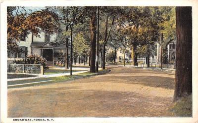 Broadway Fonda, New York Postcard