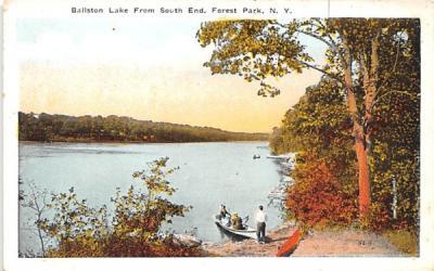 Ballston lake Forrest Park, New York Postcard