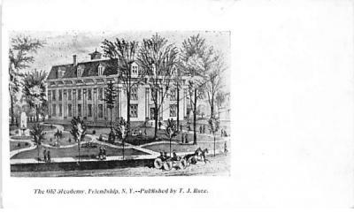 The Old Academy Friendship, New York Postcard