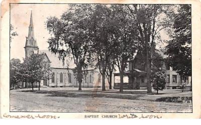 Baptist Church Friendship, New York Postcard