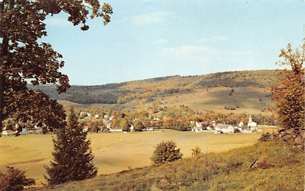 Mountain Village Grand Gorge, New York Postcard