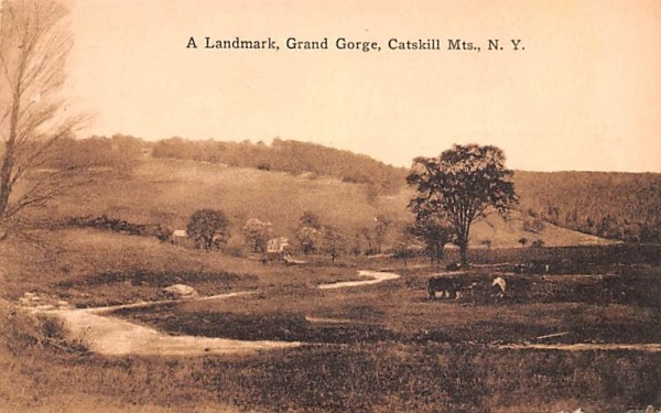 A Landmark Grand Gorge, New York Postcard