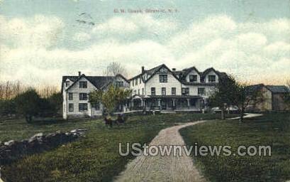 C.W. Couch - Glen Wild, New York NY Postcard