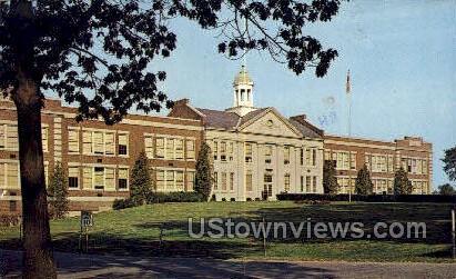 Greenville Central High School - New York NY Postcard