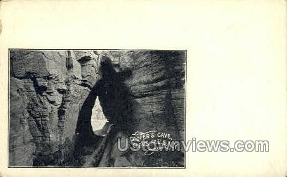 Cooper's Cave - Glens Falls, New York NY Postcard