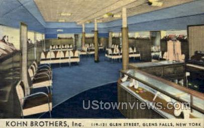 Kohn Brothers Inc - Glen Falls, New York NY Postcard