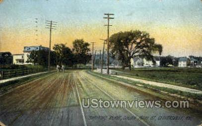 Simmons Curve - Gloversville, New York NY Postcard