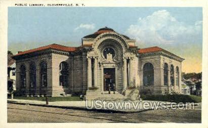 Public Library - Gloversville, New York NY Postcard