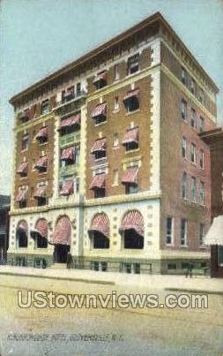 Kingsborough Hotel - Gloversville, New York NY Postcard