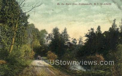 Grahamsville, New York, NY Postcard