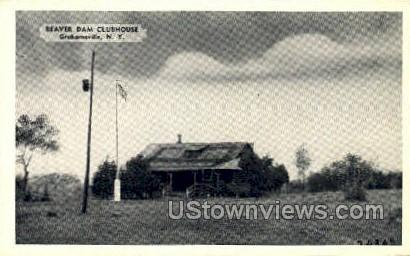 Beaver Dam Clubhouse - Grahamsville, New York NY Postcard
