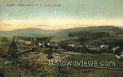 West - Grahamsville, New York NY Postcard
