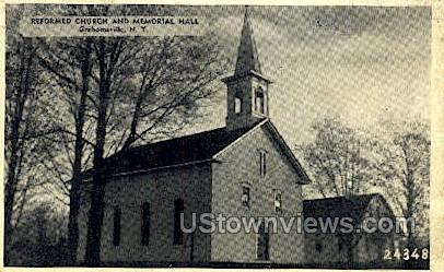 Reformed Church - Grahamsville, New York NY Postcard
