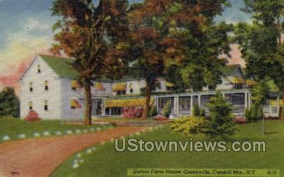 Horton Farm House - Greenville, New York NY Postcard