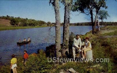 Carelas Lake Hotel - Greenville, New York NY Postcard