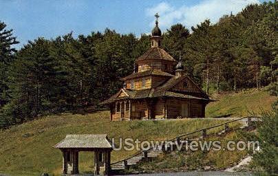 Ukranian Catholic Church - Greenville, New York NY Postcard