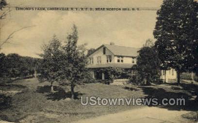Edmond's Farm - Greenville, New York NY Postcard