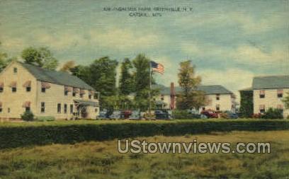 Ingalside Farm - Greenville, New York NY Postcard