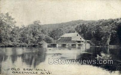 Old Saw Mill - Greenville, New York NY Postcard