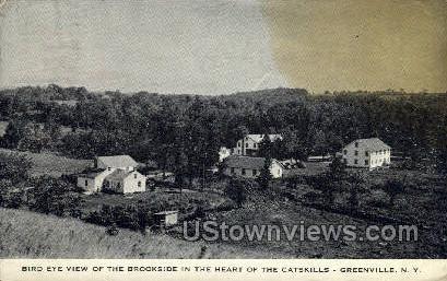 Catskills - Greenville, New York NY Postcard