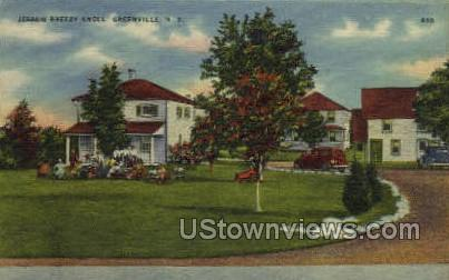Jesse's Breezy Knoll - Greenville, New York NY Postcard