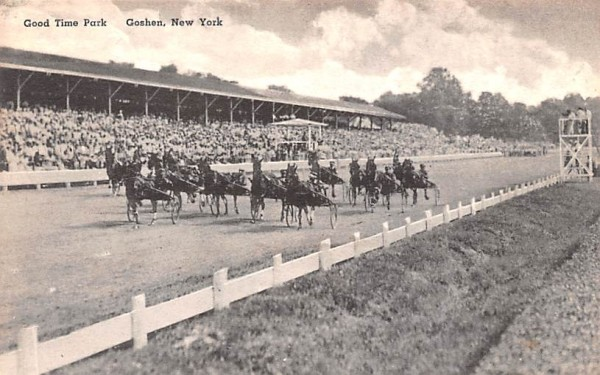 Good Time Park Goshen, New York Postcard