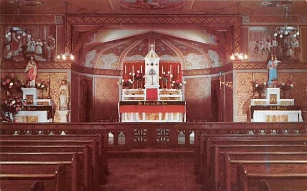 St Michael's Chapel Goshen, New York Postcard