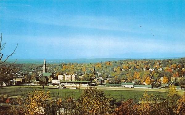 Historic Track Goshen, New York Postcard