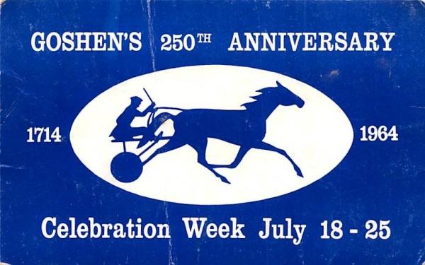 Goshen's 250th Anniversary New York Postcard