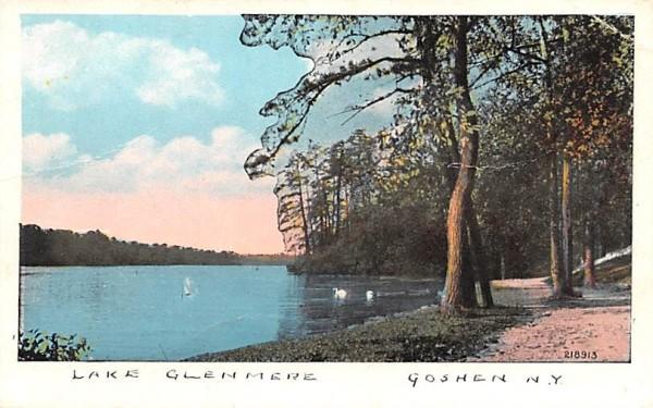 Lake Glenmere Goshen, New York Postcard