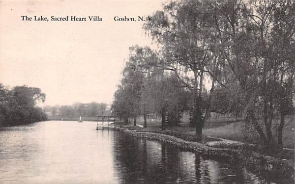The Lake Goshen, New York Postcard