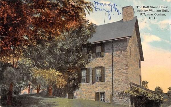 Bull Stone House Goshen, New York Postcard