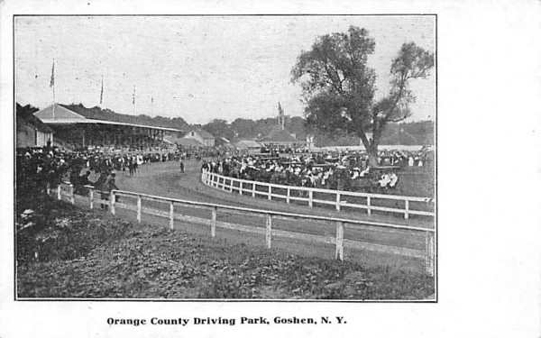 Orange County Driving Park Goshen, New York Postcard