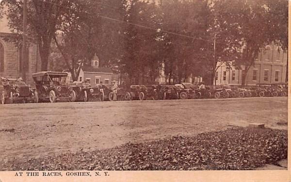 At the Races Goshen, New York Postcard