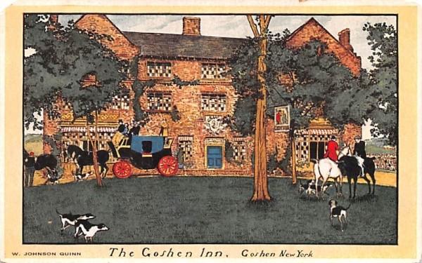 The Goshen Inn New York Postcard