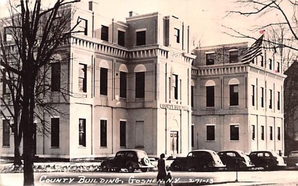 County Building Goshen, New York Postcard