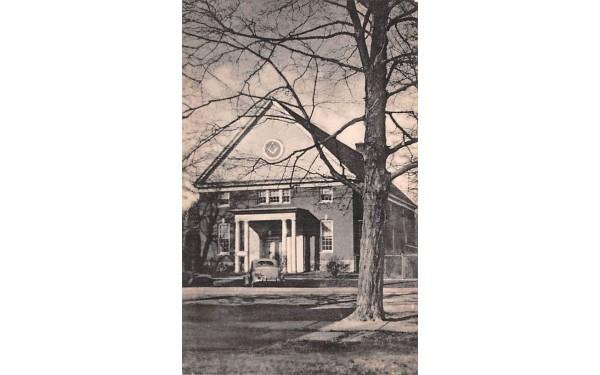 Masonic Temple Goshen, New York Postcard