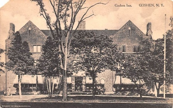 Goshen Inn New York Postcard