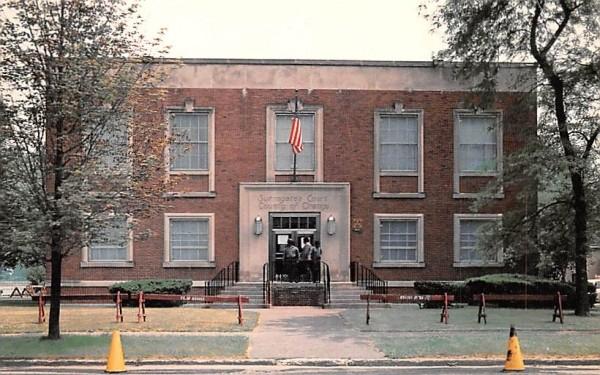 Surrogate Courthouse scene of Brink's Trial Goshen, New York Postcard