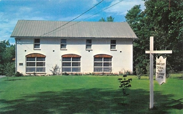 Orange County Cerebral Palsy Treatment Center Goshen, New York Postcard
