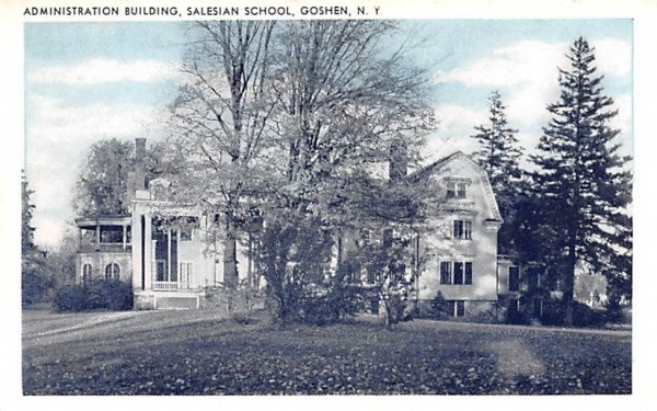 Administration Building Goshen, New York Postcard