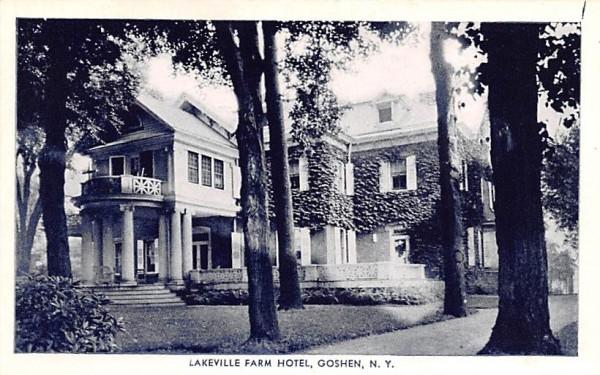 Lakeville Farm Hotel Goshen, New York Postcard