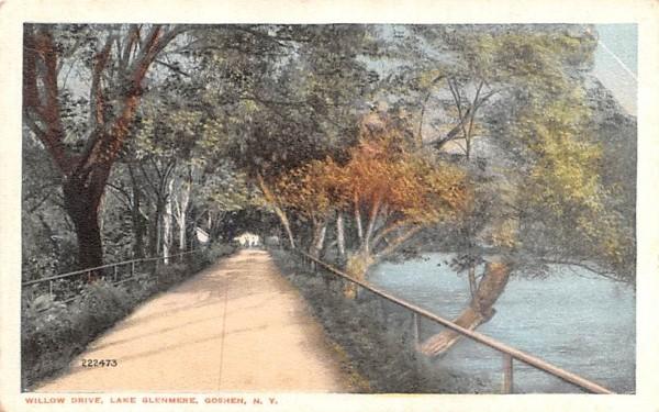 Willow Drive Goshen, New York Postcard