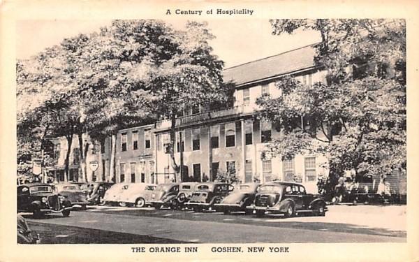Orange Inn Goshen, New York Postcard