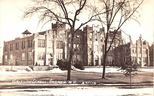 Salesian School Goshen, New York Postcard