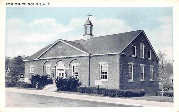 Post Office Goshen, New York Postcard